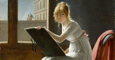 young woman drawing 1801 artwork of the week young woman drawing by marie denise