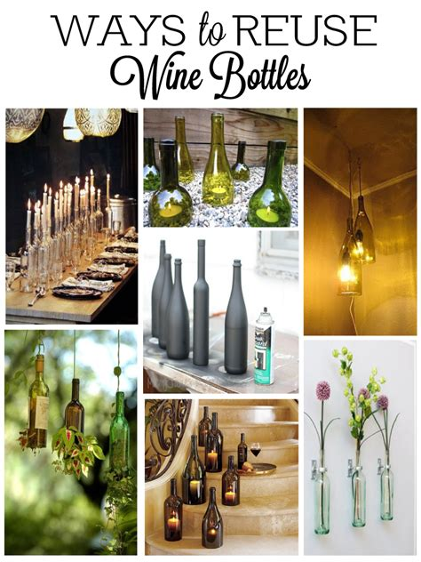 Wine Decorations For The Home Wine Bottle Decorations