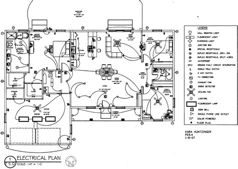 electrical house plan symbols reading electrical schematic drawings reading free