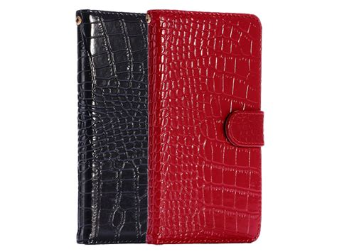 croco leather bookcase iphone  pluss  hoesje