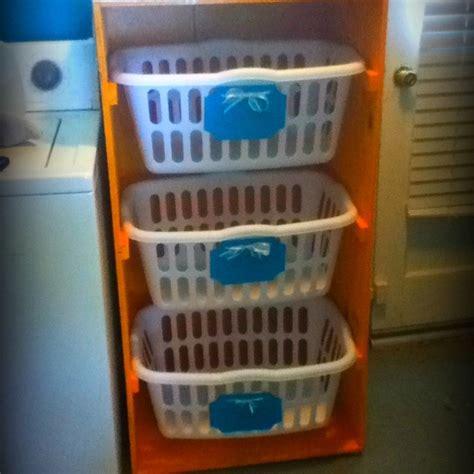 laundry organizer laundry organizer organization pinterest