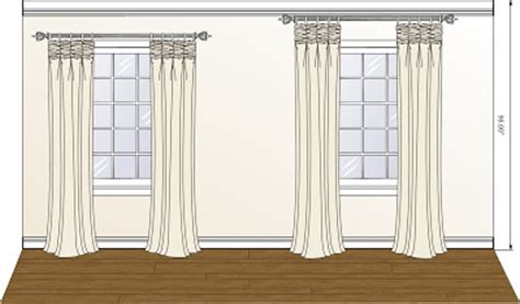 hanging curtains on windows with molding updated how to hang curtain rods on bulk head