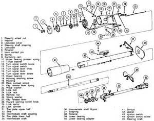 cj7 steering column diagram car interior design