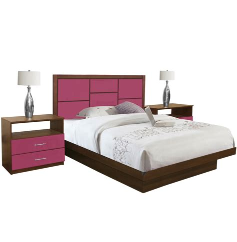 king platform bedroom set uptown king size platform bedroom set 4 piece contempo space
