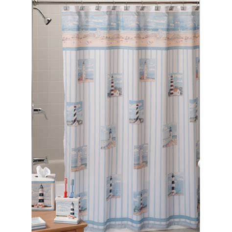 Lighthouse Shower Curtains Lighthouse Shower Curtain Furniture Ideas Deltaangelgroup