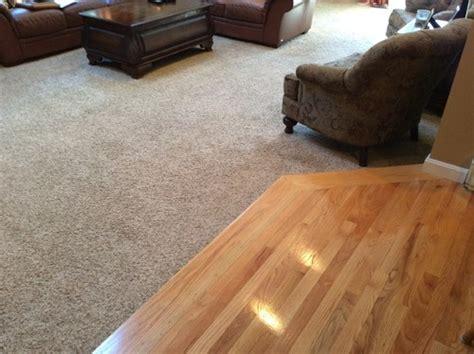 Replacing carpet   new hardwood floor color?