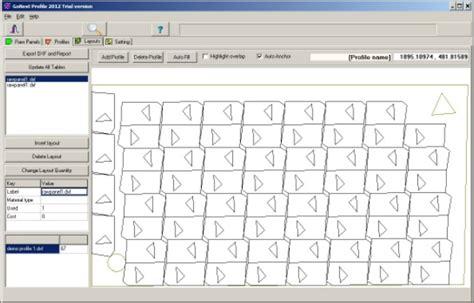 sheet layout optimizer pipe glass  sheet metal