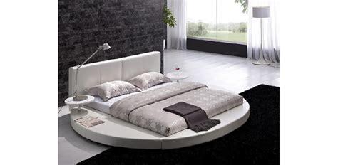 round platform bed vilenno modern round white platform bed