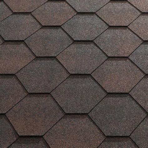 patterned roof felt katepal super jazzy hexagonal felt roofing shingles 3m2
