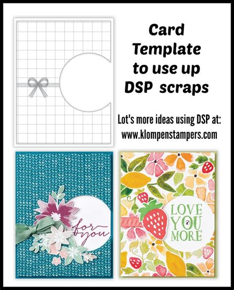usea card template 94 best stin up designer series papers images on