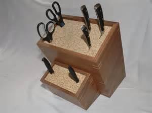 Custom Made Handmade Custom Made Knife Block By Clark Wood Creations