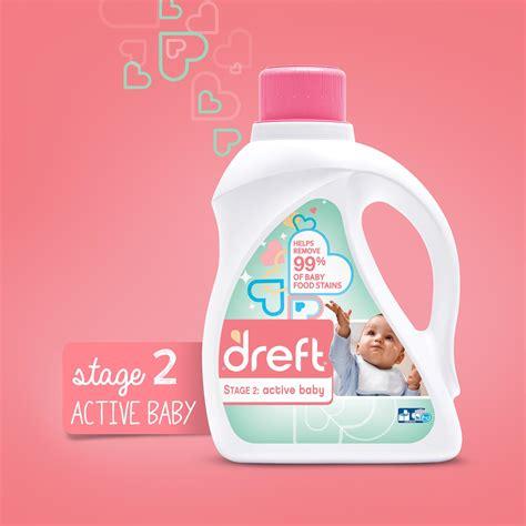 Amazon Com Dreft Stage 2 Active Hypoallergenic Liquid Baby Laundry