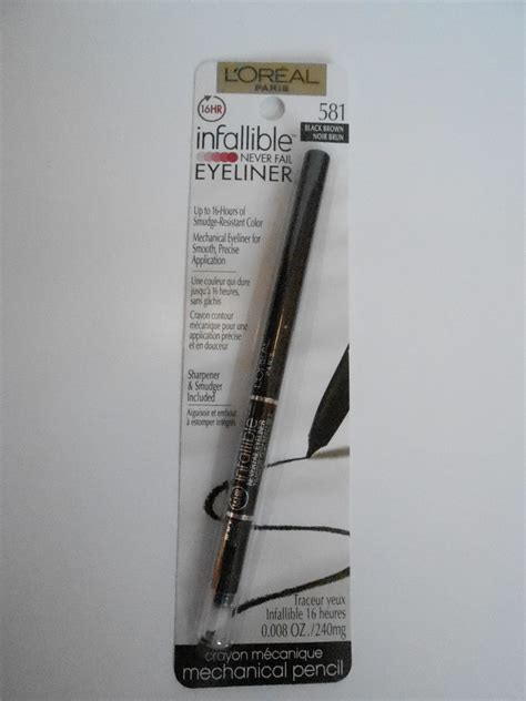 Eyeliner Loreal review l oreal infallible never fail eyeliner tricia