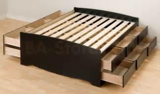 Storage bed black beds bbq 6212 k 5 nyc bed online furniture