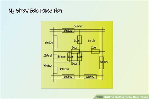 how to create a house plan how to build a straw bale house 9 steps with pictures wikihow