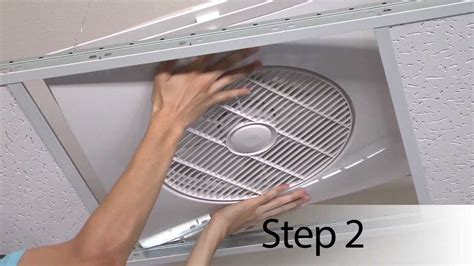 drop ceiling exhaust fan the tile fan youtube