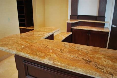 granite countertop designs for kitchens imperial gold