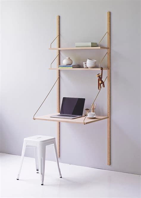 Desk Shelving by Royal System Shelving Designed By Poul Cadovius In 1948