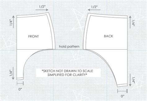 pattern grading simplified how to grade an underwear pattern using the shift method