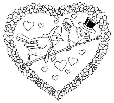 imagenes de amor para dibujar y escribir corazones tiernos de amor para colorear e imprimir