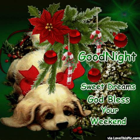 goodnight enjoy  weekend god bless christmas quote pictures   images  facebook
