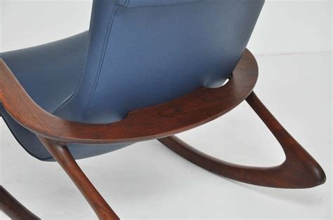 Rocking Ottoman Vladimir Kagan Rocking Chair With Ottoman At 1stdibs