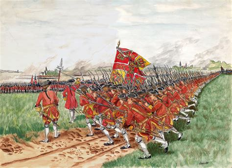 fontenoy 1745 cumberlands bloody fontenoy 1745 the charge of the regiment of clare irish
