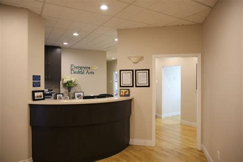 dental office front desk design office tour evergreen dental arts