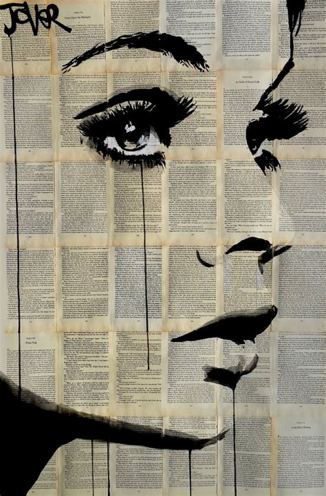 a portrait of the artist as a books saatchi nightingale drawing by loui jover