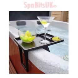 tub drinks tray adjustable table bar spa