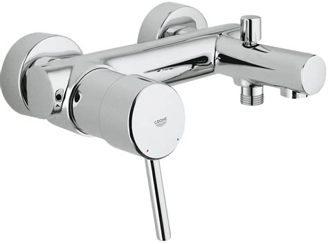 grohe bathtubs grohe concetto wall mounted bath shower mixer 1 2 quot 32211
