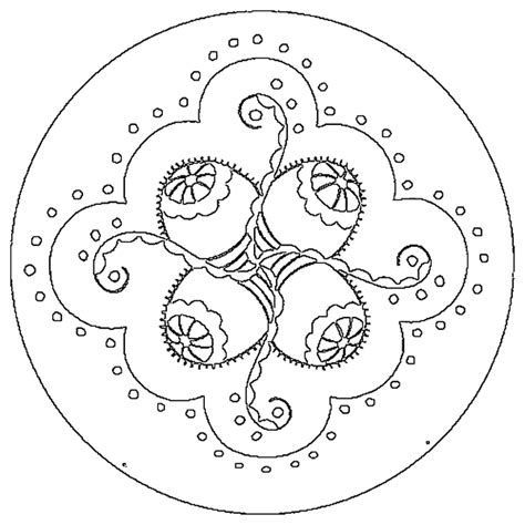 easter mandala coloring page free easter egg mandala coloring pages