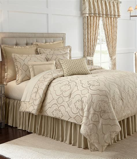 veratex piazza jacquard comforter set dillards