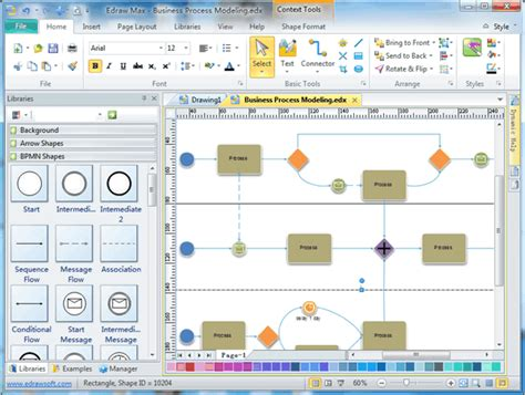 free bpmn software business process modeling software bpmn software