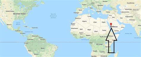 mecca on map where is mecca on a map where is map
