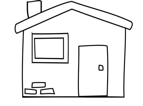 colorare casa sta disegno di la casetta da colorare