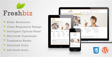themeforest wplms freshbiz responsive business wp theme wordpress