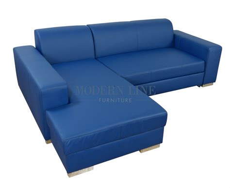 blue modern sectional sofa leather blue sofa hereo sofa