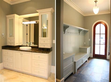 mudroom bathroom ideas design lines blog cabinetry cary home bathroom vanity and