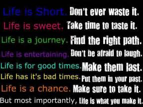 Make It Sweet Most Importantly Is What You Make It