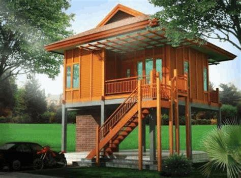 rumah kayu minimalis rumah kayu kecil