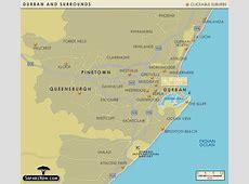 Durban Map and Durban Satellite Image Mabopane South Africa