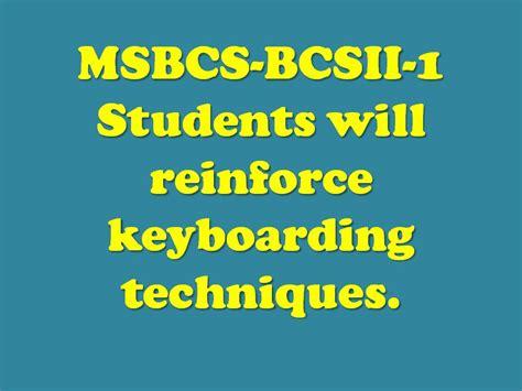 Keyboarding Unit Lisa Wms Ed S Business Education Class