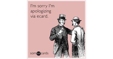 Apology Ecards