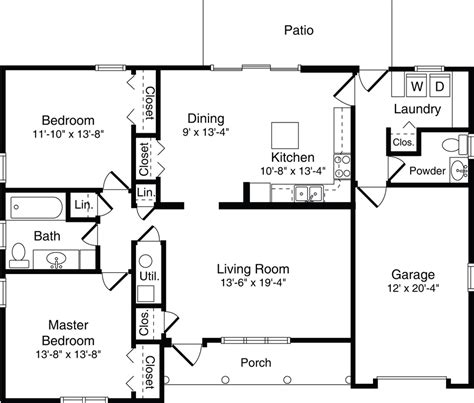 2 Bedroom Villa Floor Plans 2 bedroom villa floor plans 28 images elements of