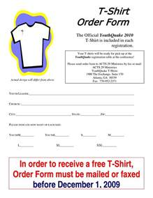 blank t shirt order form template t shirt order form template word besttemplates123