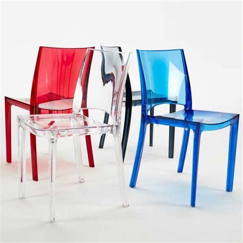 sedie trasparenti prezzi sedia impilabile trasparente per cucina salotto bar b side