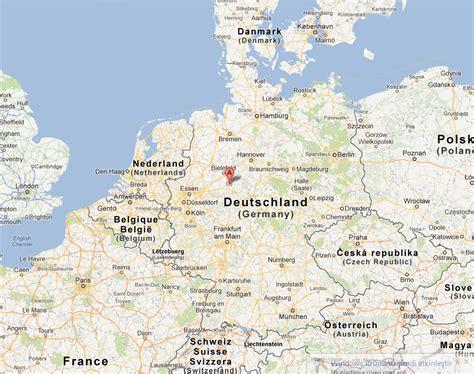 paderborn map paderborn germany map