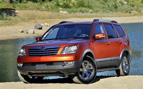 Kia Borrego Suv Kia Borrego Free Wallpapers Of The Kia Borrego Luxury Suv