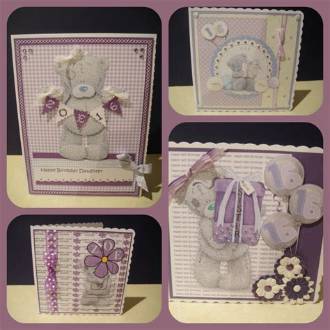 Handmade Teddy Cards - s crafts a bit of purple